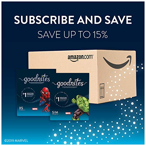 GoodNites Bedtime Bedwetting Underwear for Boys, XS, 15 Ct. (Packaging May Vary)