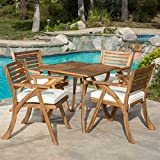 Christopher Knight Home Hermosa Acacia Wood Dining
