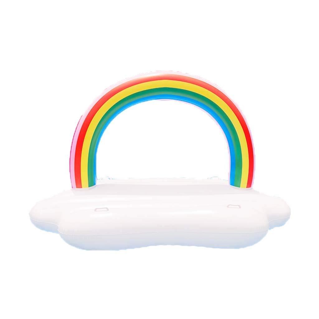 ALICE&YGG Schwimmen Party Spielzeug Inflatables Bett Riesen Pool Floß Spielzeug Große Auftrieb Komfortable Spaß Strand Floaties Aufblasbares Wasserspielzeug