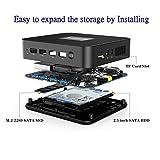 Mini PC Windows 10 Pro 8GB LPDDR4 256GB SSD Intel