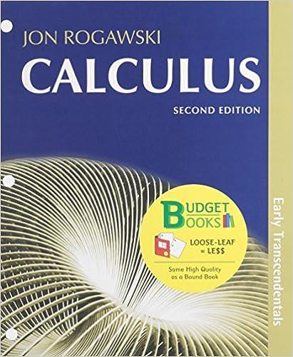 calculus early transcendentals 2nd edition rogawski pdf