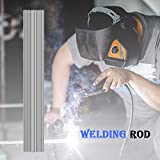 Iceyyyy 60 Pieces Aluminum Welding Rods - 0.08 x 8