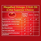 MegaRed 350mg Omega-3 Krill Oil - No fishy