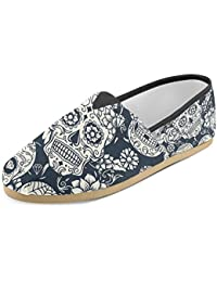Women's Loafers Classic Casual Canvas Slip on Fashion Shoes Sneakers Flats