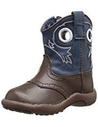 Roper Holey Square Toe Cowboy Boot (Infant/Toddler/Little Kid/Big Kid)