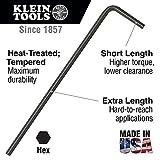 Klein Tools L-Style Hex Key Caddy Set 12-Piece LLK12