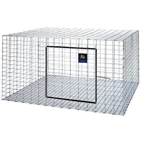 Galvanized Rabbit Hutch Size  30 x 36 by Miller