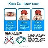 Tieesa Kids Swim Caps, Children Swimming Caps Keep