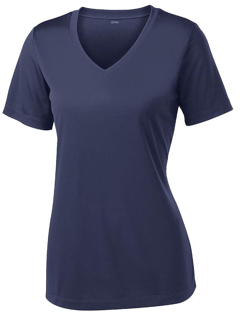 Navy XSmall Opna Women's Short Sleeve Moisture Wicking Athletic Shirts Sizes XS4XL
