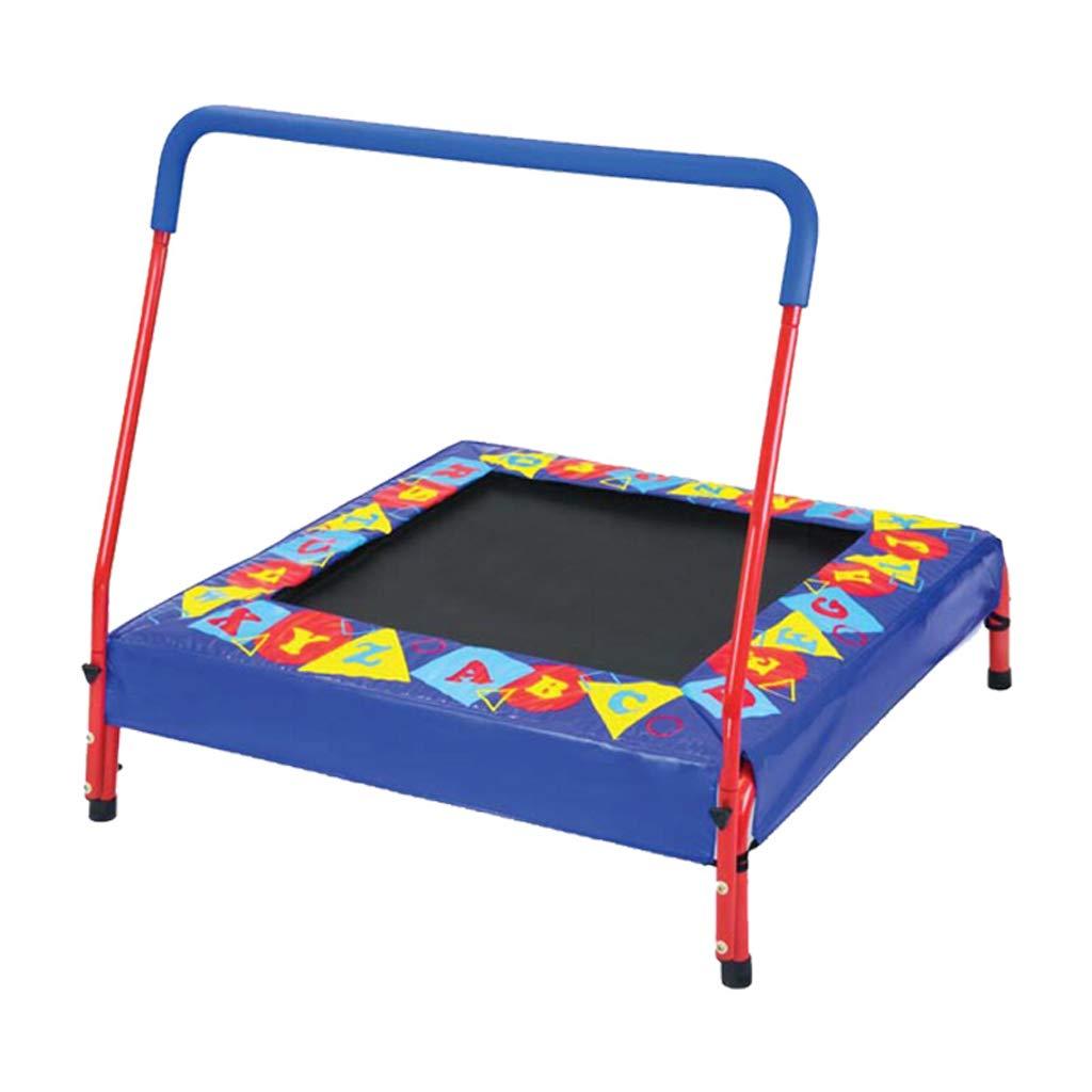 Lxn 36-Zoll-Square-Kindertrampolin mit Griffstange Ruhiger und sicherer Absprung