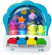 Pop & Glow Piano - Baby Einstein, Branco/Vermelho/Azul/Amarelo/V