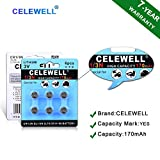 【7-Year Warranty】 CELEWELL 6 Pack DL1/3N 3V
