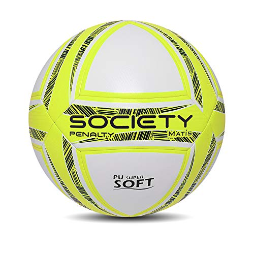 Bola  Society Penalty MATIS DT X Adulto Unissex Amarelo 0