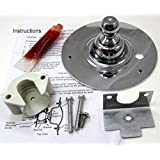 AP2142648 - NEW DRYER DRUM KIT WITH BALL SHAFT, BALL BEARING, BALL BEARING RETAINER, HI TEMP LUBRICANT AND SCREWS FOR FRIGIDAIRE ELECTROLUX DRYERS