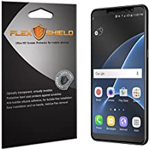 Samsung Galaxy A8+ Screen Protector (5-Pack), Flex Shield Clear Screen Protector for Samsung Galaxy A8+ (2018) Bubble-Free and Scratch Resistant Film