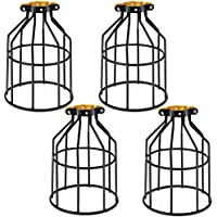 4 Pack Kohree Metal Bulb Guard Lamp Cage