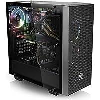Centaurus Andromeda 2 Gaming Computer - AMD Ryzen 7 2700X 4.1GHz 8-Core 16xSMT, 16GB DDR4 RAM, Nvidia GTX 1080 8GB, 500GB SSD + 2TB HDD, Windows 10, WiFi, Tempered Glass | Fast Ryzen Gaming PC