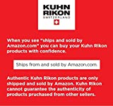 """Kuhn Rikon DUROMATIC Pressure Cooker 8.75"""" 5.3 qt best seller family of 4 two handles for stability"""