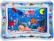 La almohadilla de agua premium hinchable para bebés y niños pequeños es el centro de entretenimiento perfecto