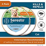 Seresto 2-Pack Flea and Tick Collar for