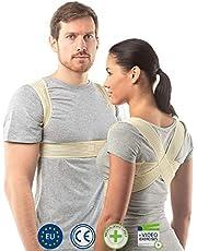 Corrector de Postura Ajustable de aHeal - Corrector Espalda De Hombros Para Hombres y Mujeres