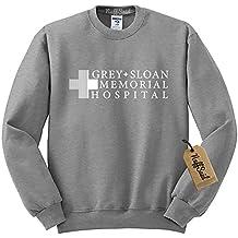 NuffSaid Grey Sloan Memorial Hospital Sweatshirt Sweater Crew Neck Pullover - Premium Quality