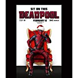 Waterproof Poster Plastic Print Poster 24x36 inch Deadpool 057