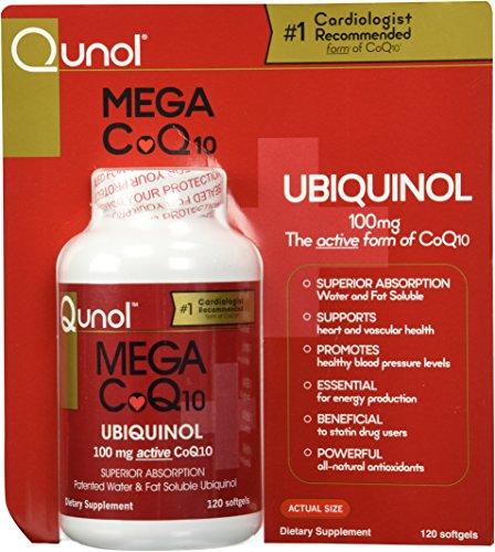 Qunol Mega Ubiquinol CoQ10