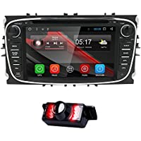 Android 6.0 Car DVD Player for Ford Focus Mondeo S-Max C-Max Galaxy Quad Core 7 Inch Hd Capacitive Screen Radio Stereo Wifi 4G GPS Bluetooth SWC