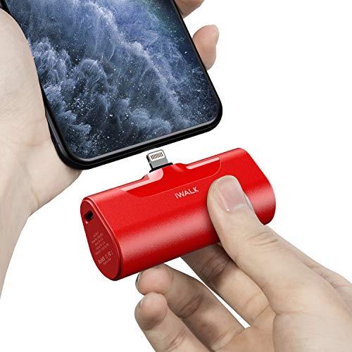 Cargador portatil 4500mAh Ultra Compacto rojo