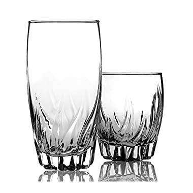 Anchor Hocking 12-Piece Central Park Tumbler Set