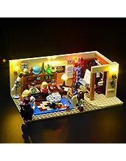 BRIKSMAX Zestaw oświetleniowy LED do The Big Bang Theory, kompatybilny z modelem klocków Lego 21302 - bez zestawu Lego
