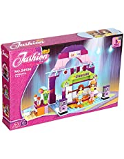 Ausini 24506 Fashion Girls Dancing Stage Construction Toy For Kids, 243 Pieces - Multi Color