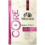 Wellness CORE Natural Grain-Free Dry Cat Food - Turkey, Turkey Meal & Duck Recipe - 2 pound (1 Bag)