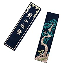 Hukaiwen Blueish Ink Stick Ink Block for Chinese Japanese Calligraphy and Drawing Hssy 62g