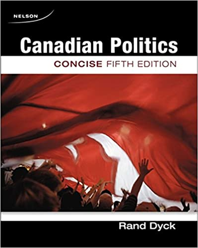 Canadian Politics Concise 5th Edition
