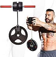 DMoose Forearm Exerciser, Wrist Exerciser and Wrist Roller, Forearm Workout Equipment, Forearm Blaster Strengt
