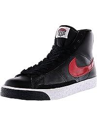 Nike Women's Blazer High Black/Varsity Red-White High-Top Basketball Shoe - 12M