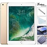 Apple iPad 9.7 Retina Display with Saiborie $49.99 Value Bundle, 2017 5th Gen 32GB, M9, Wi-Fi, MIMO, Bluetooth, Apple iOS 10 (Gold)
