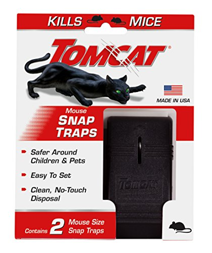Tomcat Mouse Snap Traps (1 Case of 24 Traps)