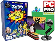 Zu3D Complete Stop Motion Animation Software Kit For Kids Includes Camera Handbook And Two Software Licenses W