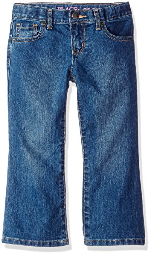 The Children's Place Girls' Basic Bootcut Jeans Md