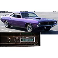 1970 Plymouth Barracuda USA-630 II High Power 300 watt AM FM Car Stereo/Radio with iPod Docking Cable