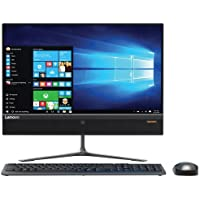 Lenovo Ideacentre AIO 510 21.5 All-in-One Desktop (AMD A6-9210, 4GB, 1TB HDD, Windows 10) F0CC000CUS