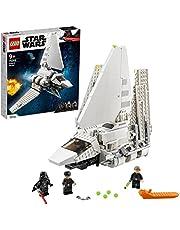 LEGO 75302 Star Wars Imperial Shuttle Building Set with Luke Skywalker with Lightsaber and Darth Vader Minifigures