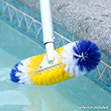 Blue Torrent AC 88072 360-Degree Brush for Swimming Pools, 12-Inches