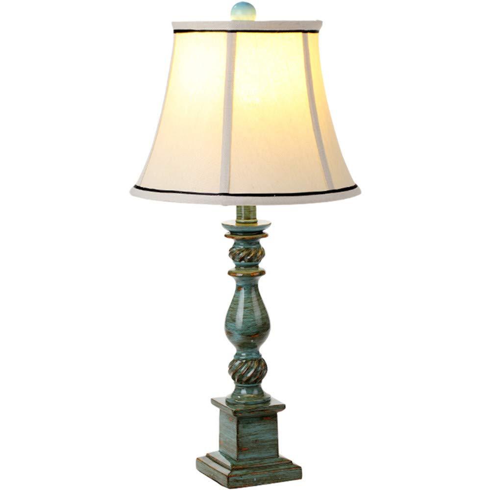 Ehime Einfache Harz Tischlampe Schlafzimmer Nachttisch kreative Hochzeit Tischlampe Nachttischlampe