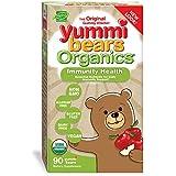 Hero Nutritionals Yummi Bears Organics Immunity Health Plus Zinc & Echinacea Certified Organic Gummy Vitamin for Kids, 90 Gummy Bears