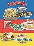 3 Books in 1: Kraft Cheese Casseroles