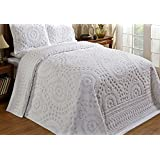 Better Trends / Pan Overseas 120 X 110 Inch Rio Bedspread, King, White